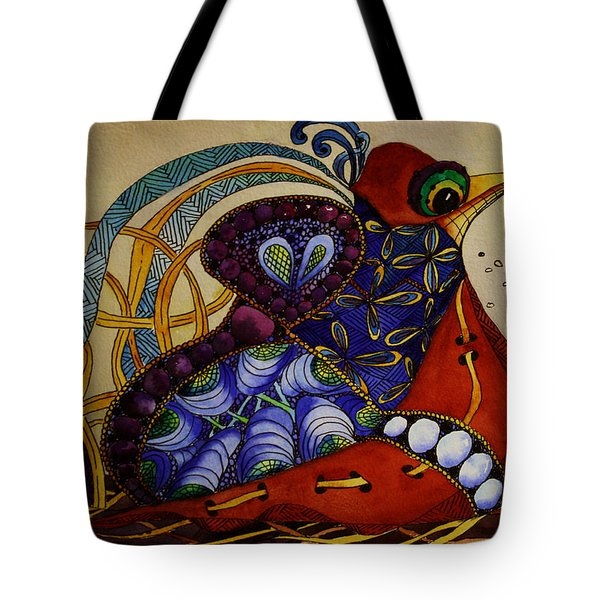 Early Worm Gets The Bird Tote Bag