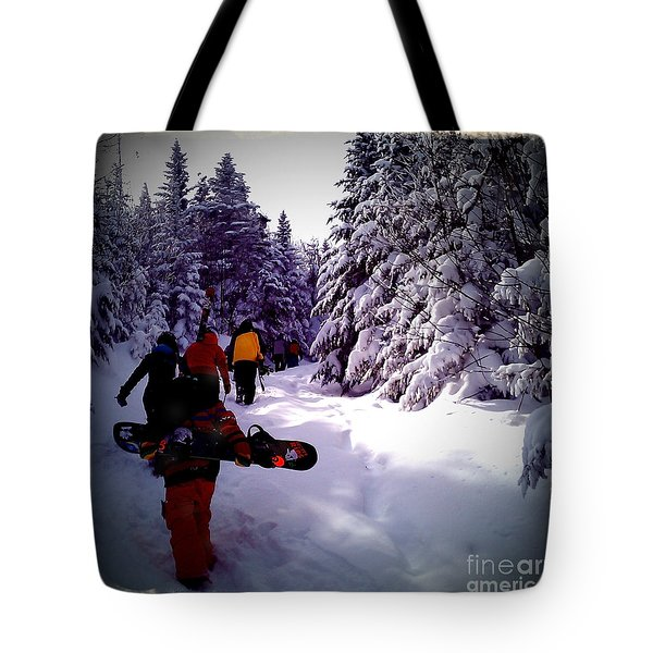 Earning Turns Tote Bag by James Aiken