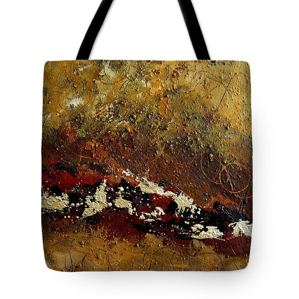 Earth Abstract Four Tote Bag by Lance Headlee