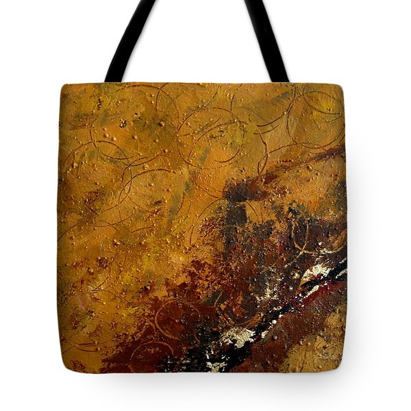 Earth Abstract Two Tote Bag by Lance Headlee