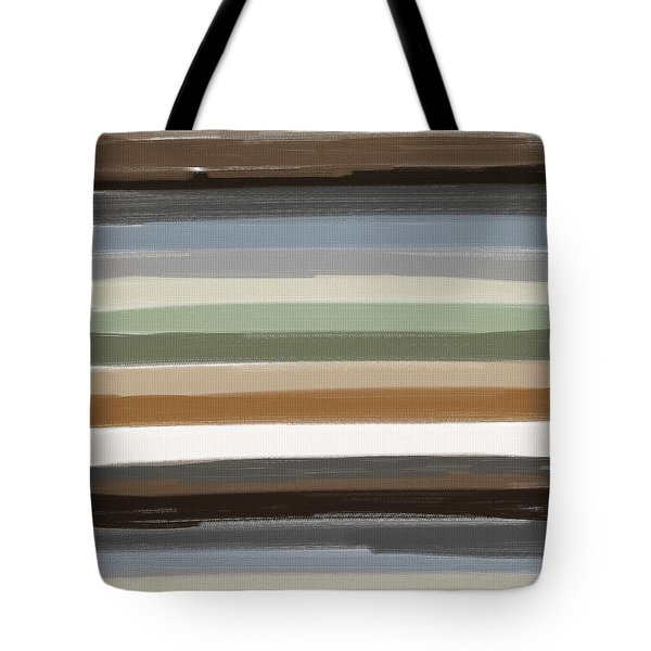 Earth Colors Tote Bag by Lourry Legarde