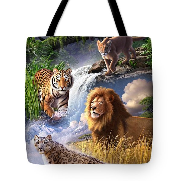 Earth Day 2013 Poster Tote Bag by Jerry LoFaro