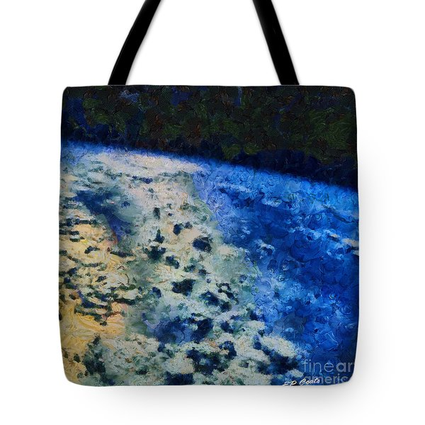 Tote Bag featuring the painting Earth by Elizabeth Coats