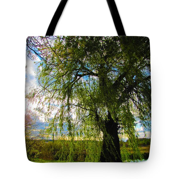 Earth Green Not Avatar Blue Tote Bag
