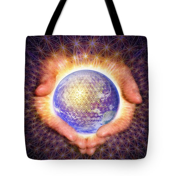 Earth Healing Tote Bag