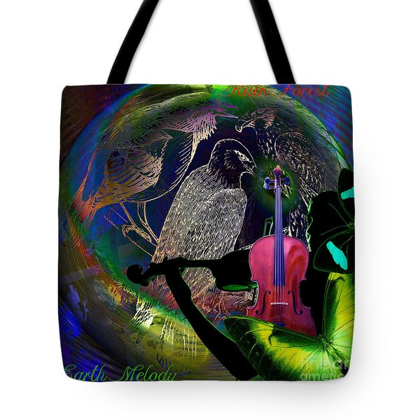 Earth Melody Tote Bag