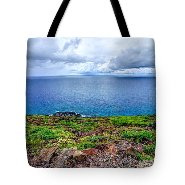 Earth Sea Sky Tote Bag