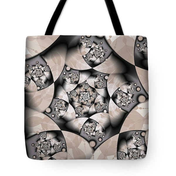 Tote Bag featuring the digital art Earth Tones by Gabiw Art