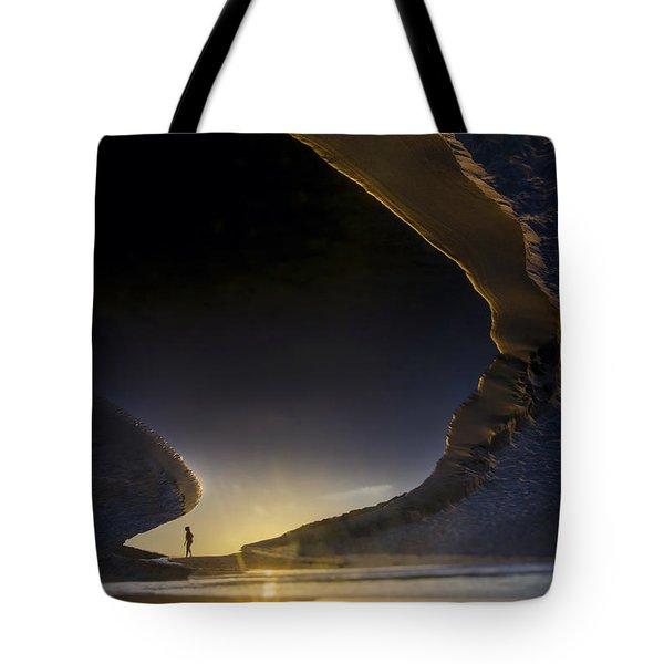 Earth Walker Tote Bag