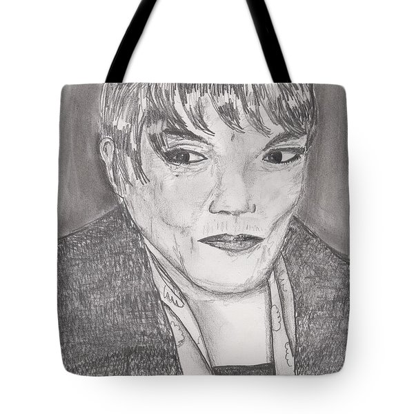 Eartha Kitt Tote Bag