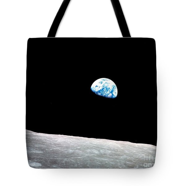 Earthrise Nasa Tote Bag
