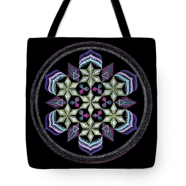 Tote Bag featuring the painting Earth's Forgiveness by Keiko Katsuta