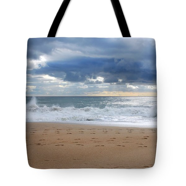 Earth's Layers - Jersey Shore Tote Bag