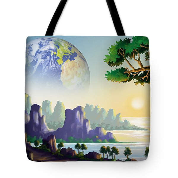 Earth's Sister Tote Bag