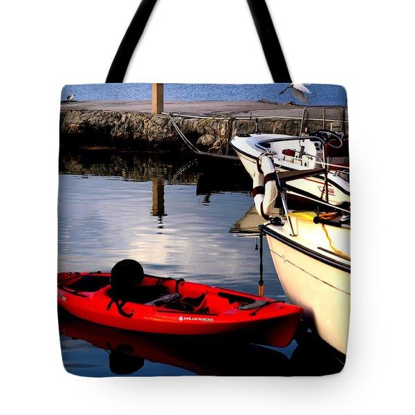 Ease Of The Keys Tote Bag by Karen Wiles