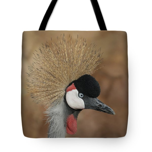East African Crowned Crane Tote Bag