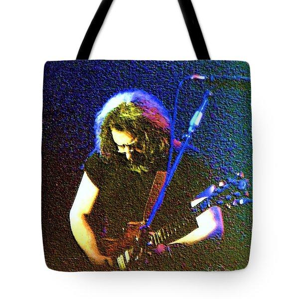 Grateful Dead - East Coast Tour - Jerry Garcia Tote Bag