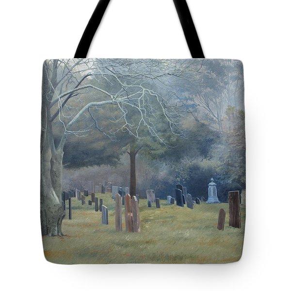 East End Cemetery Amagansett Tote Bag