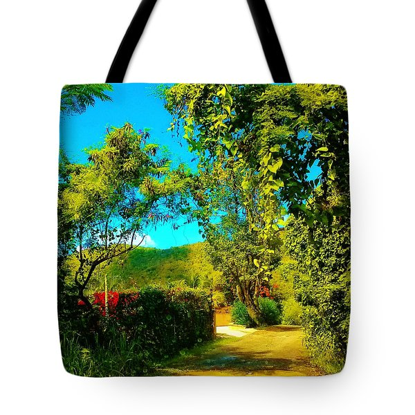 East End St. John's Usvi Tote Bag