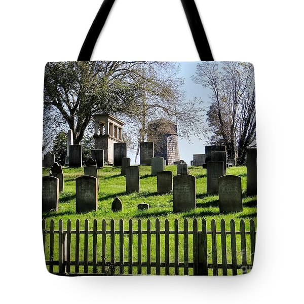 Tote Bag featuring the photograph East Hampton  by Ed Weidman