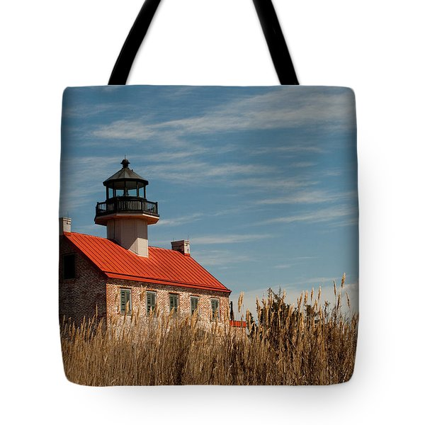 East Point Across The Marsh Tote Bag