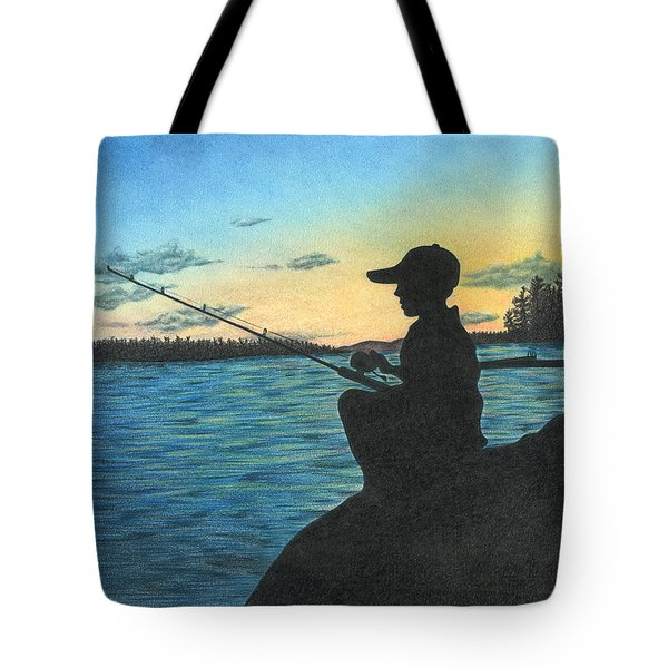 East Pond Tote Bag by Troy Levesque