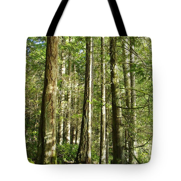 East Sooke Park Trail Tote Bag