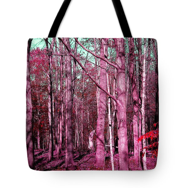 East Trail  Tote Bag by Tina M Wenger