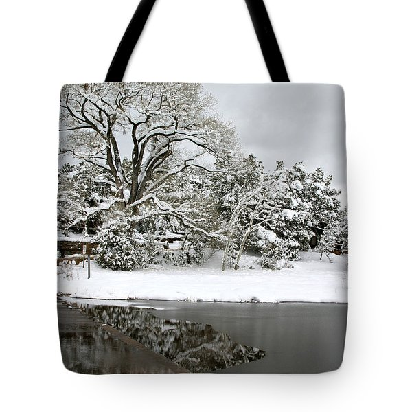 East Verde Winter Crossing Tote Bag