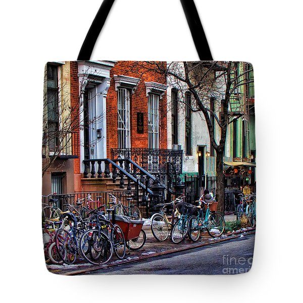 East Village Bicycles Tote Bag