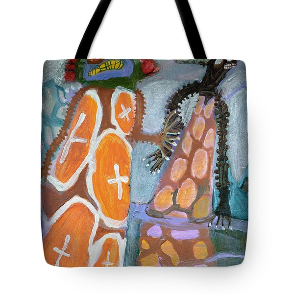 Eastanomically Nutty Tote Bag by Nancy Mauerman