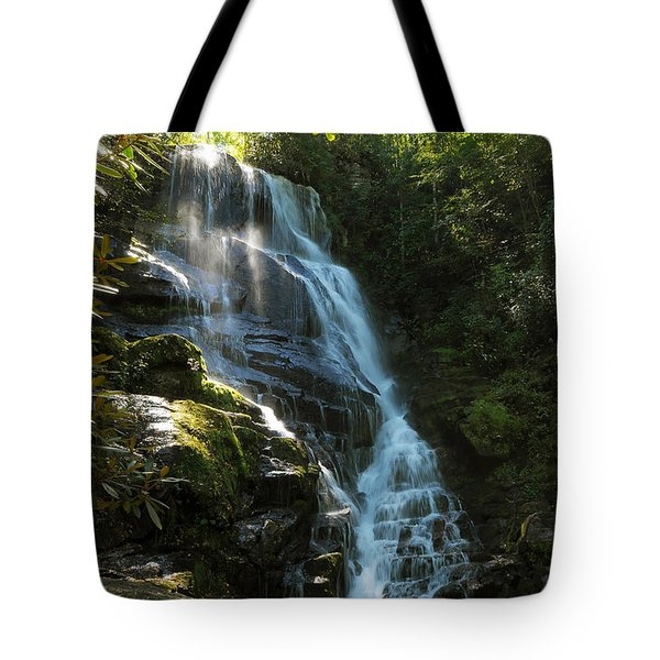 Eastatoe Falls North Carolina Tote Bag