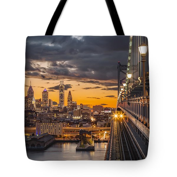 Eastbound Encounter Tote Bag