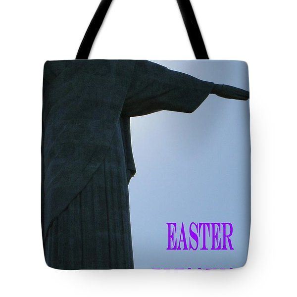 Easter Blessings Card Tote Bag by Barbie Corbett-Newmin