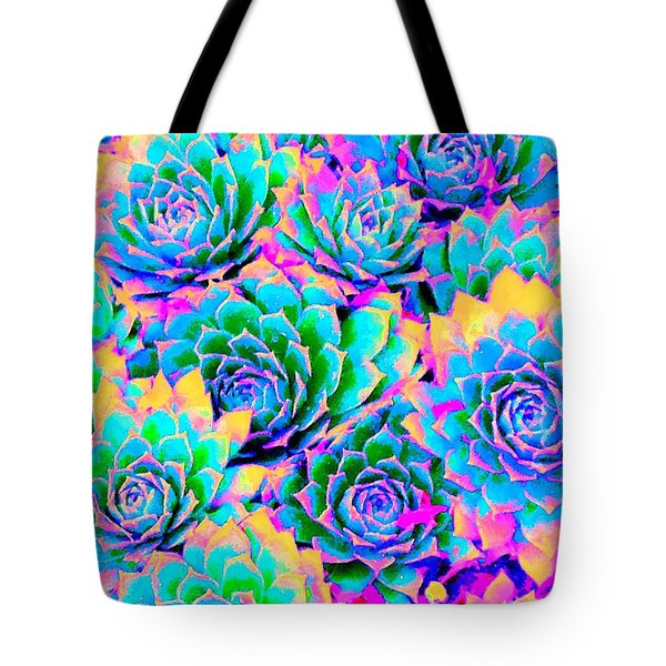Easter Chicks Tote Bag by Ann Johndro-Collins