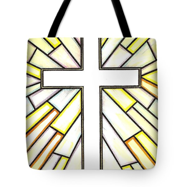Easter Cross 3 Tote Bag