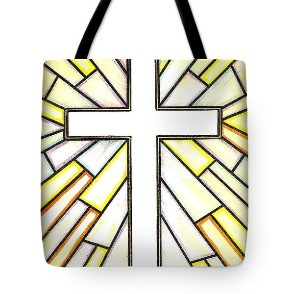 Easter Cross 3 Tote Bag by Jim Harris