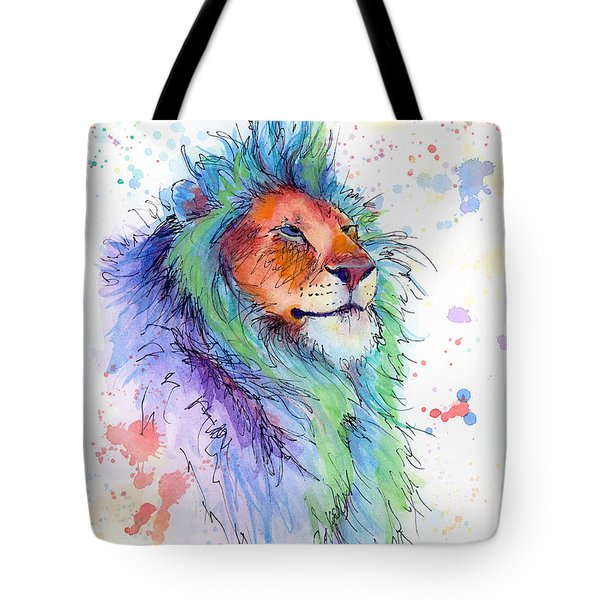 Easter Lion Tote Bag