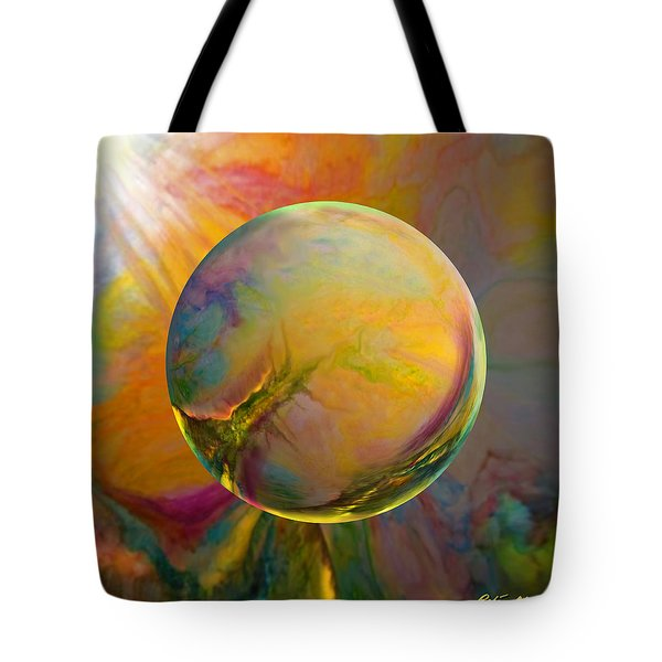 Easter Orb Tote Bag
