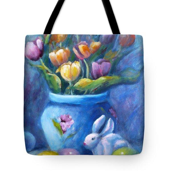 Easter Still Life Tote Bag