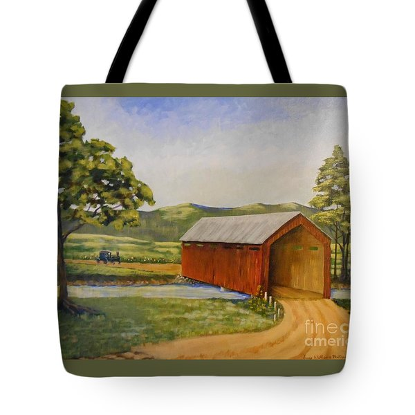 Eastern Covered Bridge Tote Bag