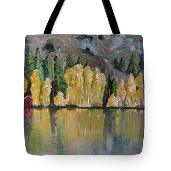 Eastern Sierra Reflections Tote Bag