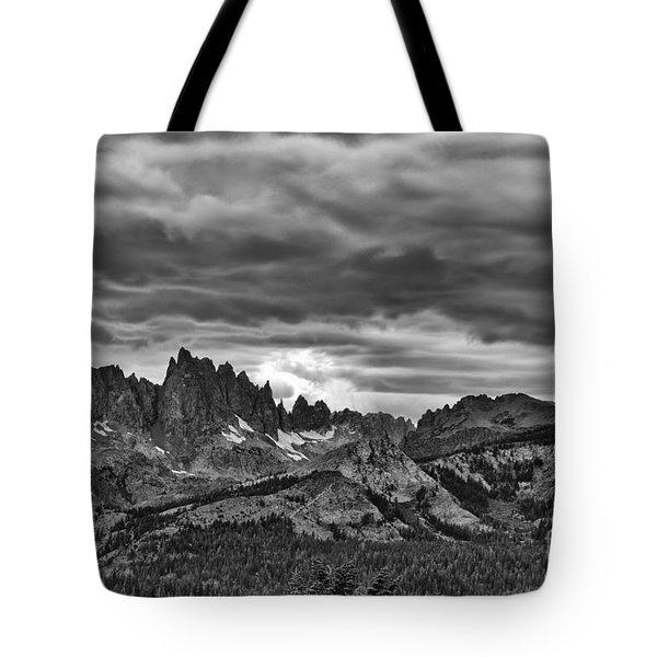 Eastern Sierras Summer Storm Tote Bag by Terry Garvin