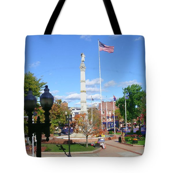 Easton Pa - Civil War Monument Tote Bag