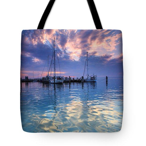 Eastport Sunrise Tote Bag