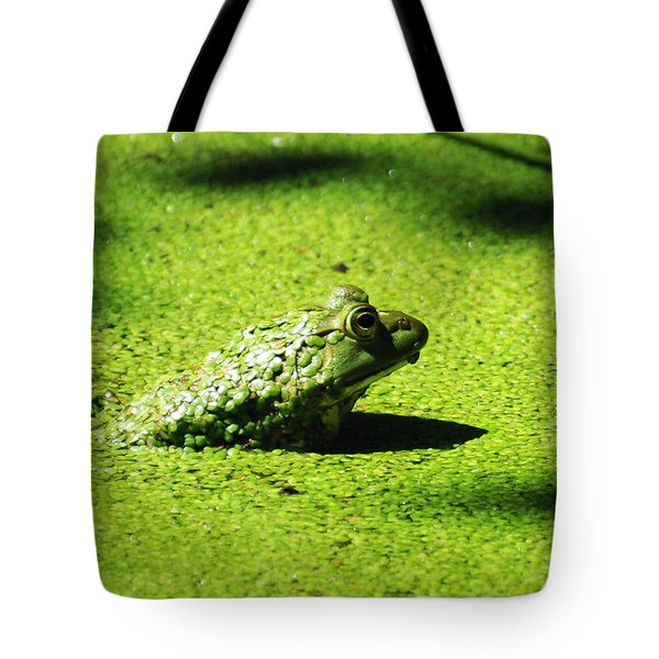 Easy Being Green Tote Bag