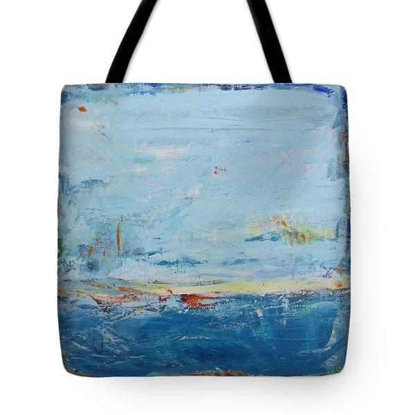 Easy Peaceful Feeling Tote Bag