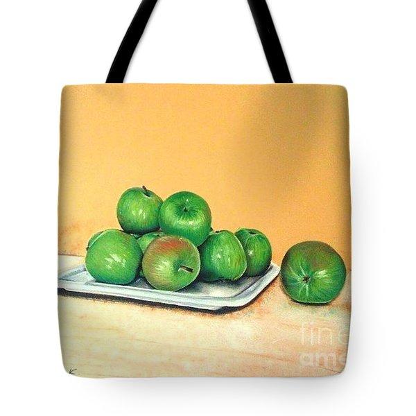 Eat Green Tote Bag