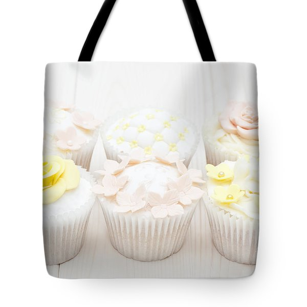 Eat With Your Eyes Tote Bag by Anne Gilbert