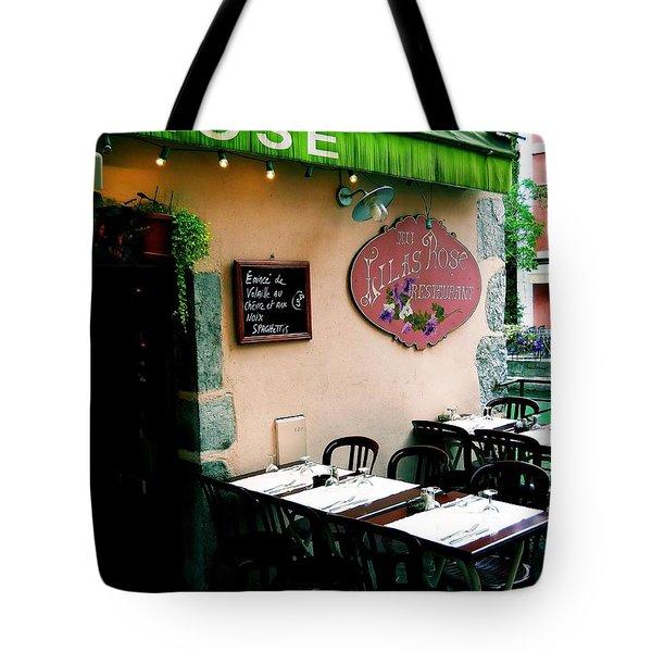 Eatery 1 Tote Bag
